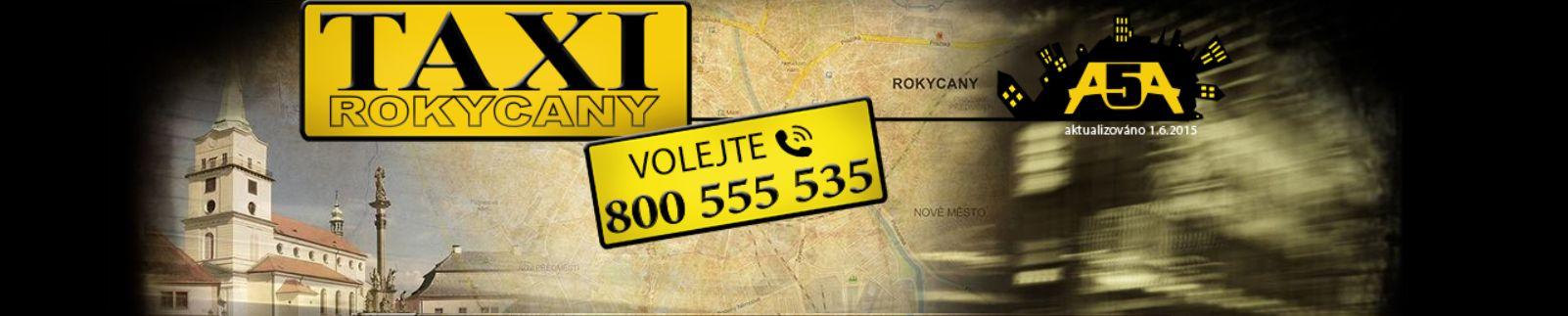 Taxislužba v Rokycanech A5A